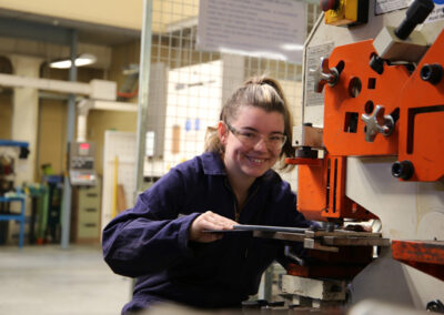 Students of the BOP Futures Academy - Manufacturing Training