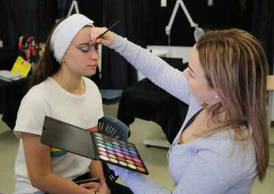 Students of the BOP Futures Academy - Beauty Industry Training