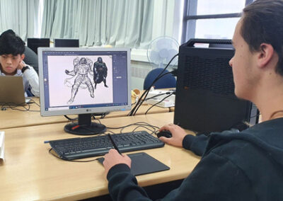 Students of the BOP Futures Academy - Creative Industry Training